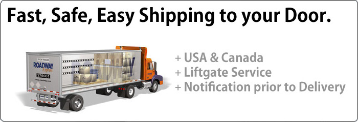 Steam Shower Shipping Services