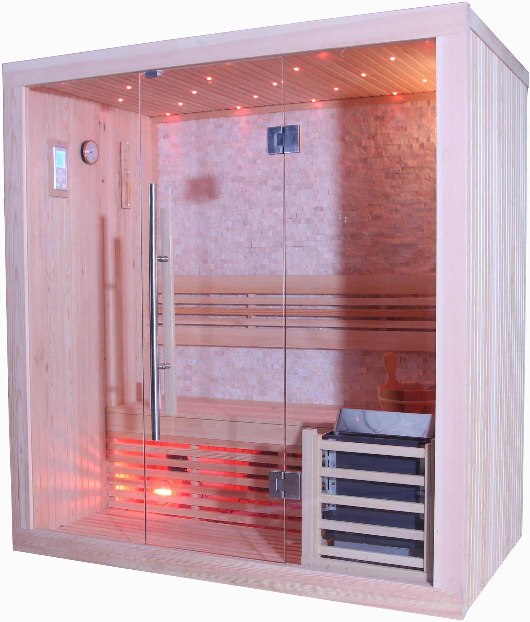 Westlake Luxury 3-Person Traditional Sauna