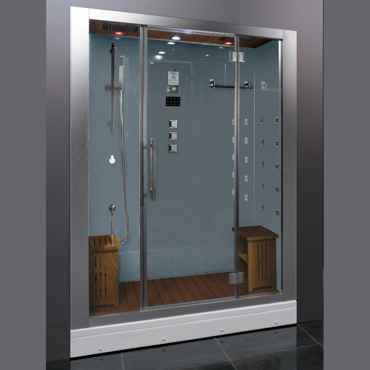 Platinum DZ972F8 Steam Shower White Steam Shower   $3,990.00