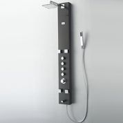 FSP8001BG Pavia (Brushed Grey) Thermostatic Shower Massage Panel