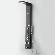FSP8006BG Verona (Brushed Gray) Thermostatic Shower Massage Panel