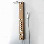 FSP8001BB Pavia  (Brushed Bronze) Thermostatic Shower Massage Panel