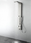 FSP8006BS Verona (Brushed Silver) Thermostatic Shower Massage Panel