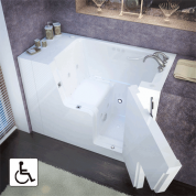 Walk In Tub-2953WCARWH