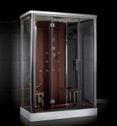 Platinum DZ956F8 Steam Shower-Brown