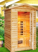 Burlington 2-Person Outdoor Sauna