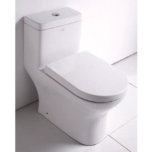 Eago TB353 Dual Flush European Contemporay Toilet