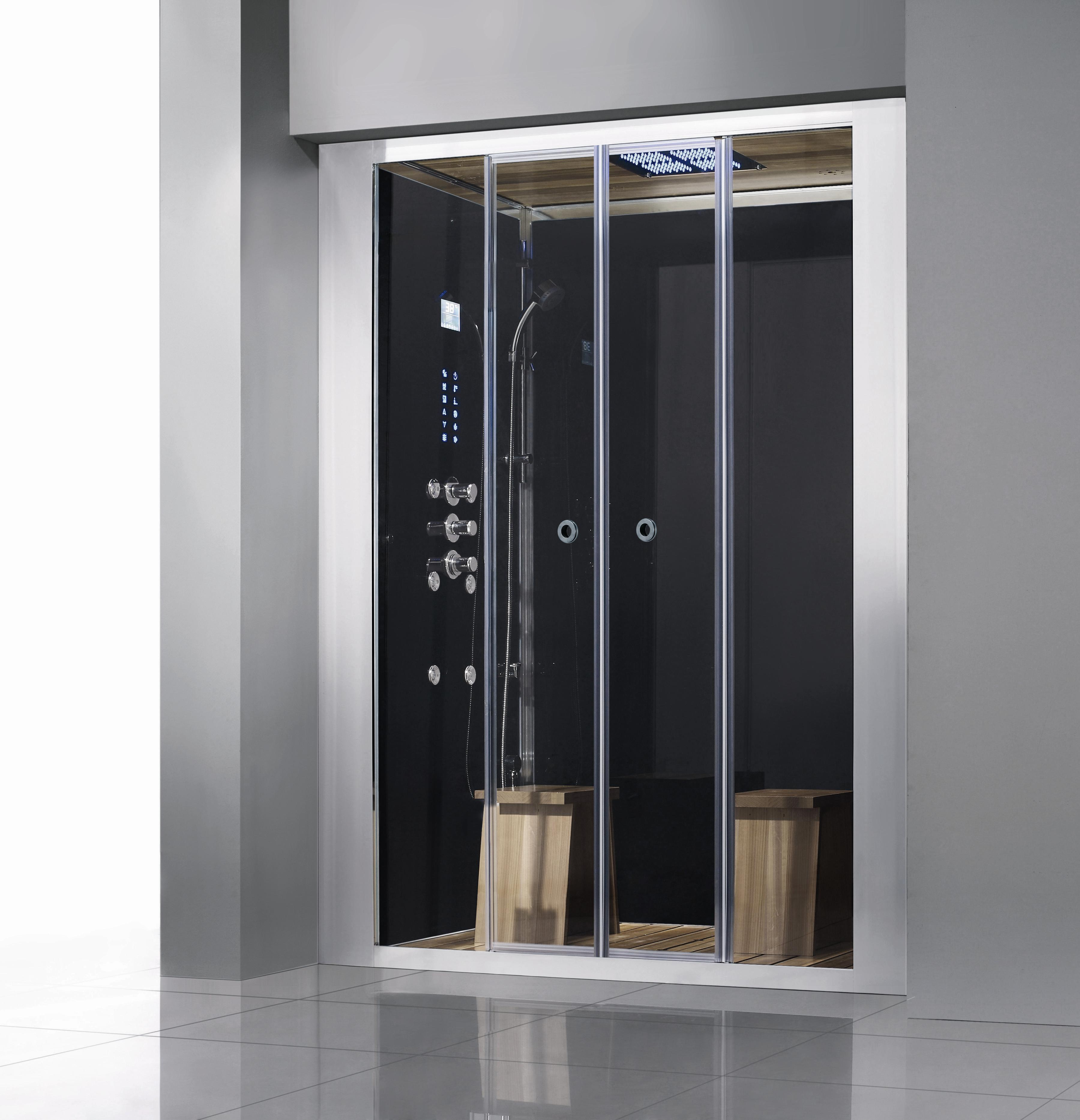 Amazing Athena WS 112 Steam Shower Sliding Door