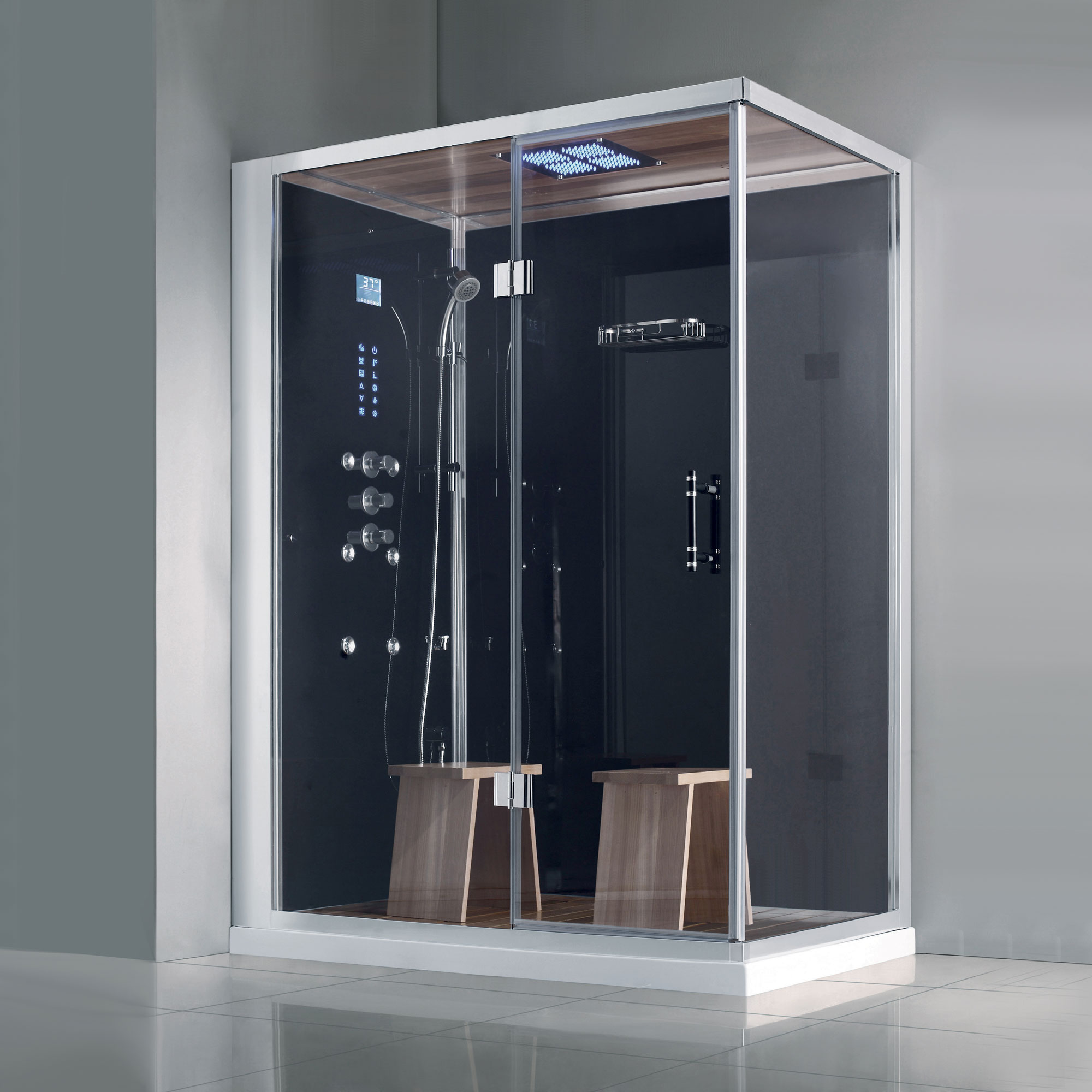 Athena WS141R steam shower, steam shower kit, steam cabin, luxury ...